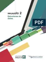 Módulo 2 - Estructuras de Datos