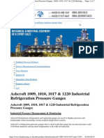 Manometros Para Amonia Ashcroft