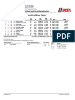 Tudor United SportsCar Championship - PC race at Kansas Speedway