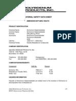 Ammonium Heptamolybdat
