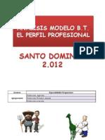 Analisis Del Modelo Del Bachillerato Técnico