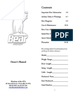 2008 Bear Archery Manual