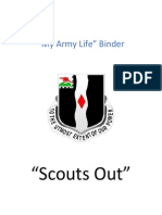 My Army Life Binder