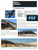 SC13-11 (Structural Beam for Fertilizer Plant)