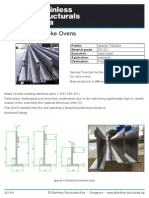 SC13-01 (T-Sections for Coke Ovens)