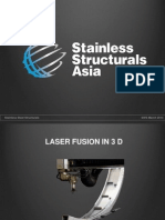 Laser Fusion 3 D for SWS