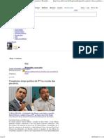 O Explosivo Braço Político Do PT No Mundo Dos Perueiros _ Reinaldo Azevedo - Blog - VEJA
