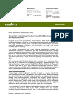 20080925 EN_WBDA for Syngenta's Tropical Sugar Beet