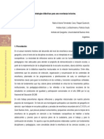 Tra Andrea Viviana Ajon María Victoria Fernández Caso Raquel Gurevich
