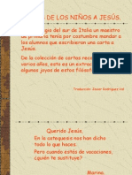 Cartas a Jesús