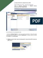 Crearea Unui Cub OLAP Cu Analysis Services 2012