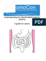 Carers Guide Anorectal Abnormalities A5 SINGLES v3