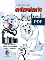 Calentamiento Global Libro Para Colorear MEI