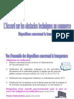 Accord Sur Les Obstacles Techniques Au Commerce