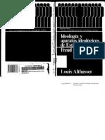 Ideología y Aparatos Ideológicos de Estado. Freud y Lacan.