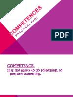 competences activity 4