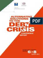 Debt Crisis Conference2014 Final