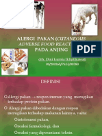 ALERGI PAKAN (Cutaneous Adverse Food Reactions)