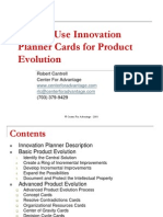 Innovation Planner for Product Development.ppt