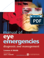 Manual of Eye Emergencies. Diagnosis and Management (2004)