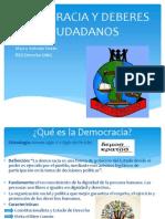 Clase Democracia y Deberes Ciudadanos 2014