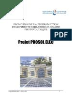Projet Prosol Elec 2010