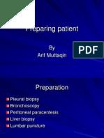 Preparing Patient