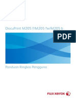 DocuPrint M105 Series Quick Reference Guide Indonesia_b998