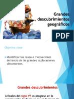 UNIDAD 2 Grandes Descubrimientos Geográficos