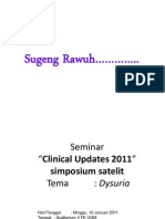 Presentasi Clinical Update 2011 Disuria Final 140111 (1)