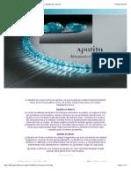 Apatita - Alimentando El Cuerpo Físico - Información y Pedidos Por Internet