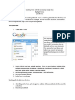 2010 LUC Create a Form in Google Docs