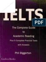 IELTS the Complete Guide to Academic Reading