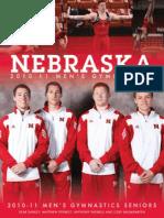 University of Nebraska Men's Gymnastics Media Guide