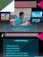 Actualización en Inmunizaciones