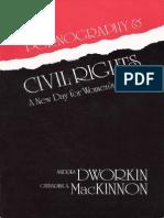 Pornography and Civil Rights - Mackinnon & Dworkin - pdf.pdf