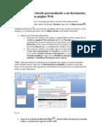Crear Un Hipervínculo Personalizado a Un Documento