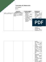 Plan Anual de Trabajo 2010 - 8o Básico