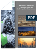 Thar Coal Block II Mining and Power Project Introduction Document
