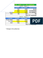 Tet New Calculation