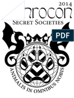 Anthrocon 2014 Schedule and Pocket Program