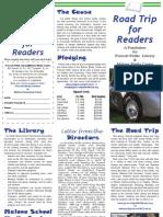 roadtrip for readers brochure 2