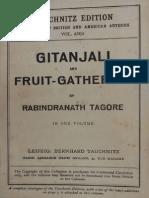 Tagore - Gitanjali