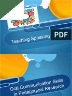 teaching speaking presentation of may 24