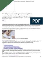 G1 - Veja 10 Passos Para Estudar Para Concursos Públicos - Notícias Em Concursos e Emprego