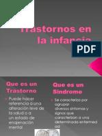 Trastorno de La Infacia Diapos