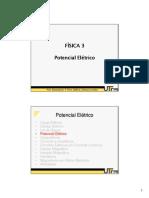 Fisica_3 Aula III -Potencial Eletrico