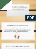 """Consideraciones Periodontales en Prã""""Tesis Parcial Removible(1)"""