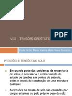 9 - Tensões Geostáticas 2014