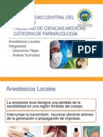 Anestesicos Locales